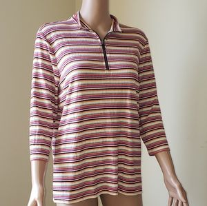 🆕️ NWT EXPRESS Multicolored Striped Blouse